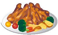 招待された晩餐会でシェフがドクのために特別に用意したメインディッシュは…フライドチキンでした