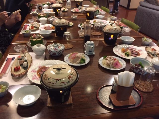 和食、〆は太刀魚の炊き込みご飯