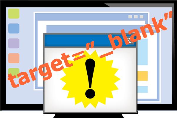 """広告リンクコードの変更、各ASPの対応~target=""""_blank""""問題の対処"""