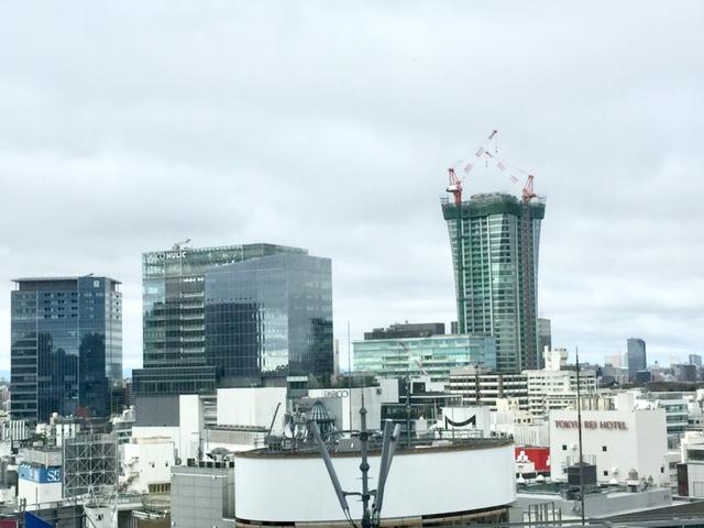 視界がすっきりしてきた渋谷駅界隈
