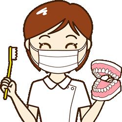 歯科衛生士さんに正しい歯磨きの仕方を教えてもらいましょう