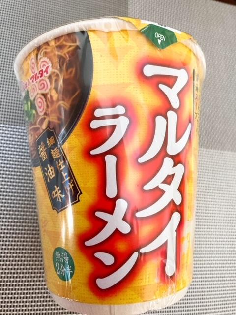マルタイラーメン 醤油味 カップ麺