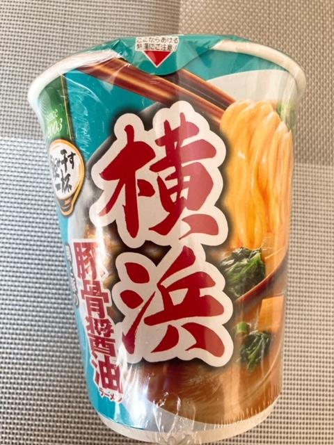 エースコック飲み干す一杯 横浜豚骨醤油