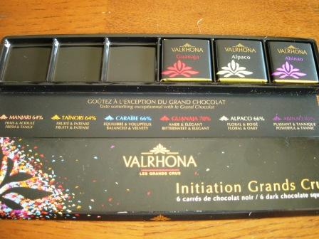 VALRHONA  Initiation Grands Crus