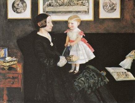 Mrs James Wyatt Jr and her Daughter 1850.jpg