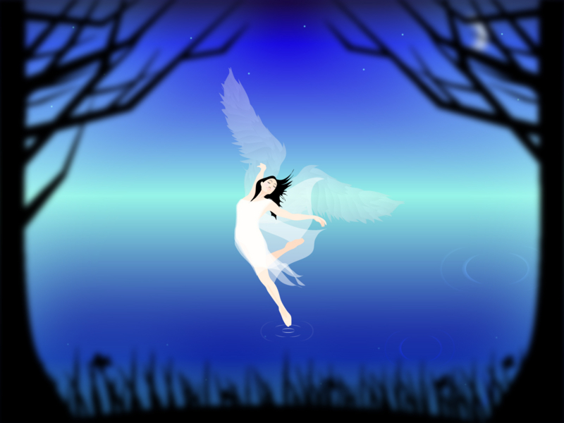 天使 ダンサー