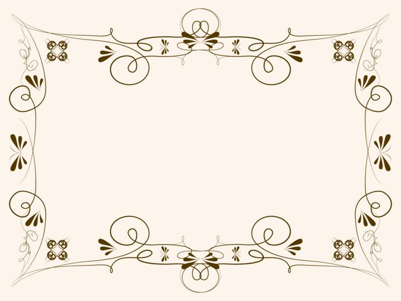 飾り罫線 蝶々