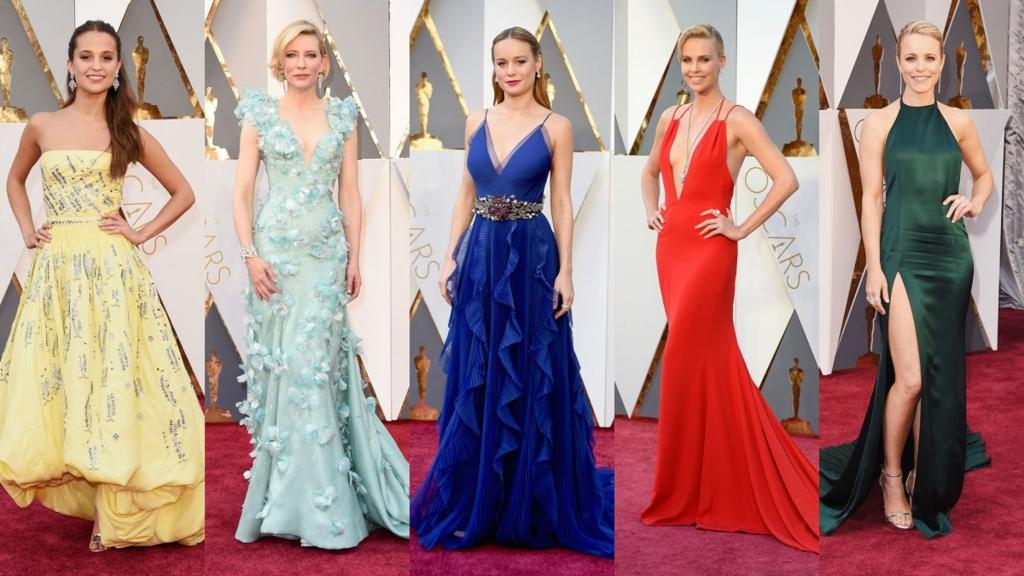 Le look de robe de soirée sur Oscar 2016