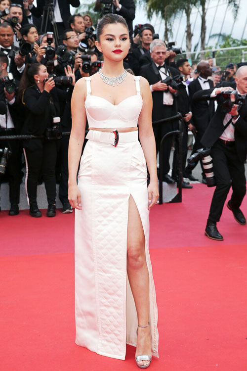 La robe de Selena Gomez Cannes 2019