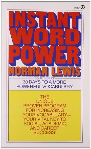 Instant word powerの表紙
