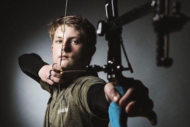 archer bow arrow