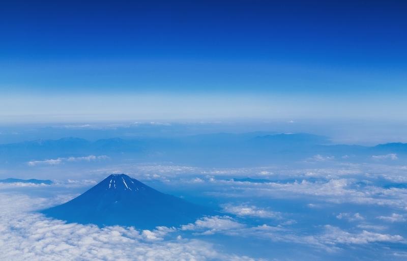 背景ー富士山ー