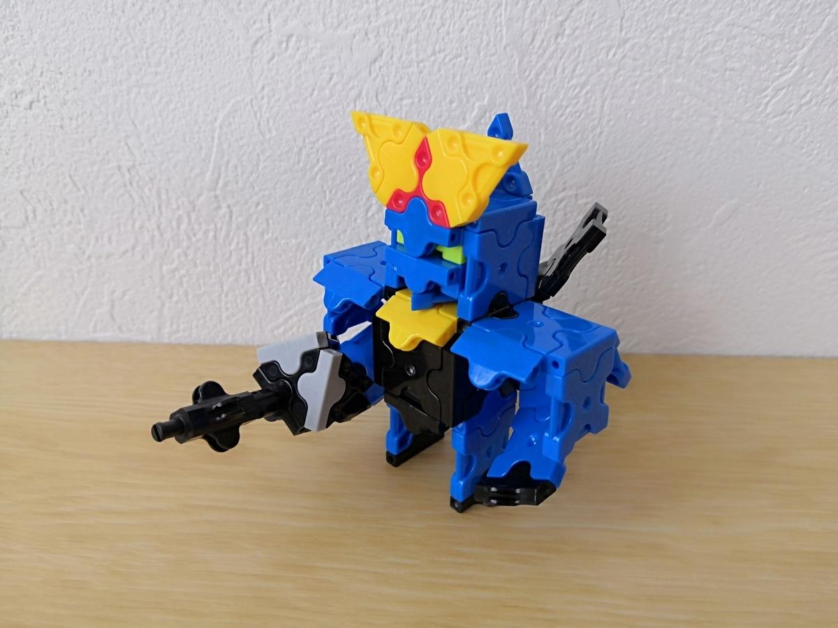【Z(ゼータ)】RX-178 GUNDAM Mk-Ⅱ ガンダムマーク2をLaQ(ラキュー)で作ってみた。