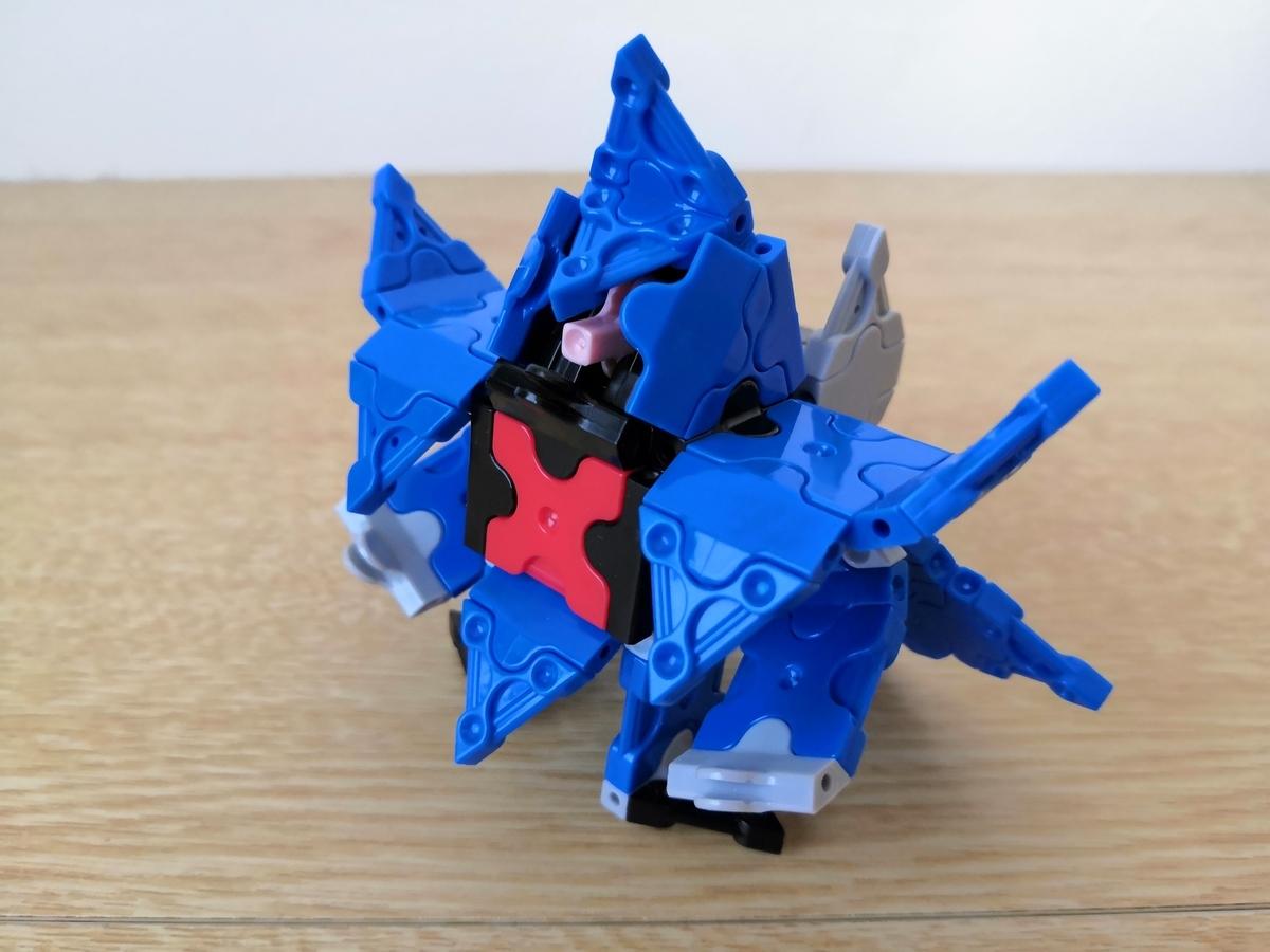 【Z(ゼータ)】RX-139 HAMBRABI ハンブラビをLaQ(ラキュー)で作ってみた。