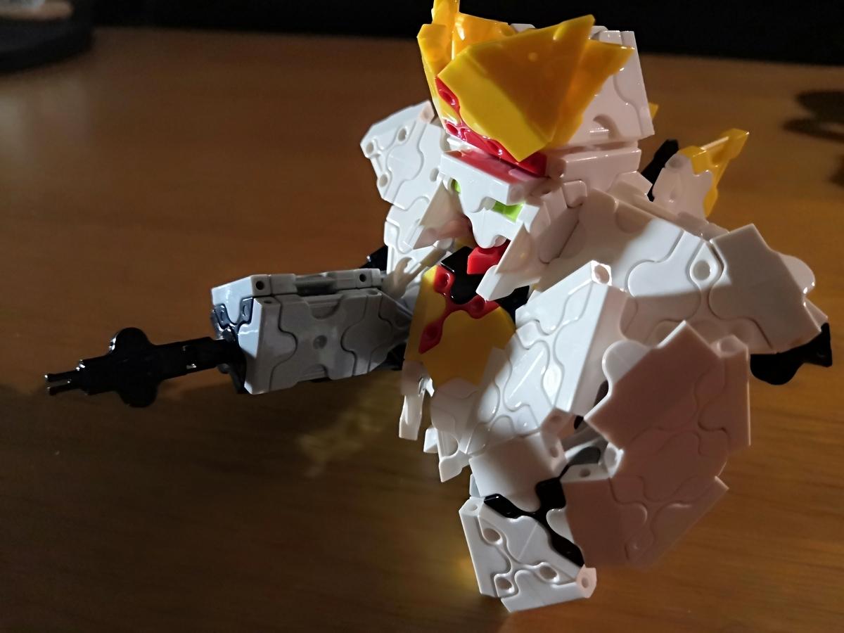 【閃光のハサウェイ】RX-105 Xi-GUNDAM クスィーガンダムをLaQ(ラキュー)で作ってみた。