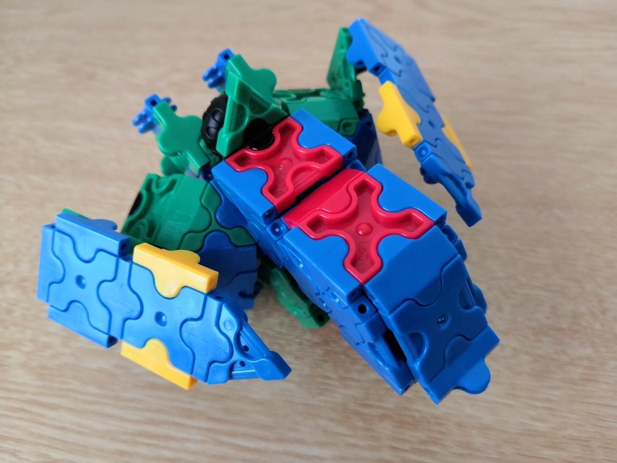 【Z(ゼータ)】RX-005 GAPLANT ギャプランをLaQ(ラキュー)で作ってみた。