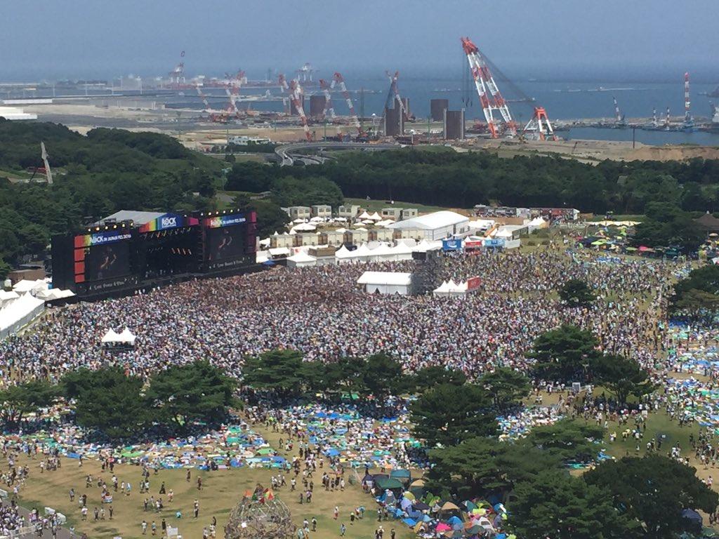 【エンタメ画像】BABYMETAL 「 ROCK IN JAPAN FESTIVAL 2016」の様子
