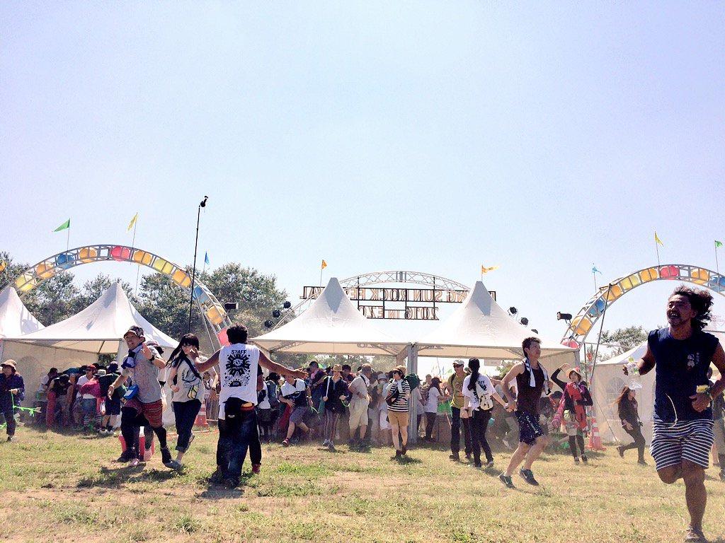 【エンタメ画像】「RISING SUN ROCK FESTIVAL in EZO」の現在の様子 トラブル発生★?