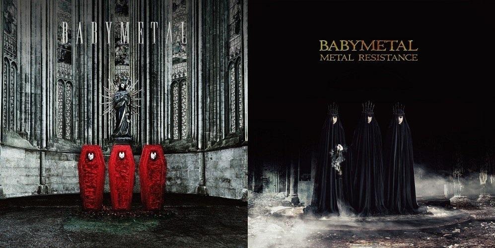 【エンタメ画像】BABYMETAL 1stと2nd外国で評価が高かったのは?