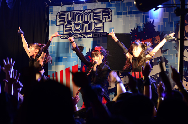 BABYMETALがサマソニ2012に出演!!当時の反応
