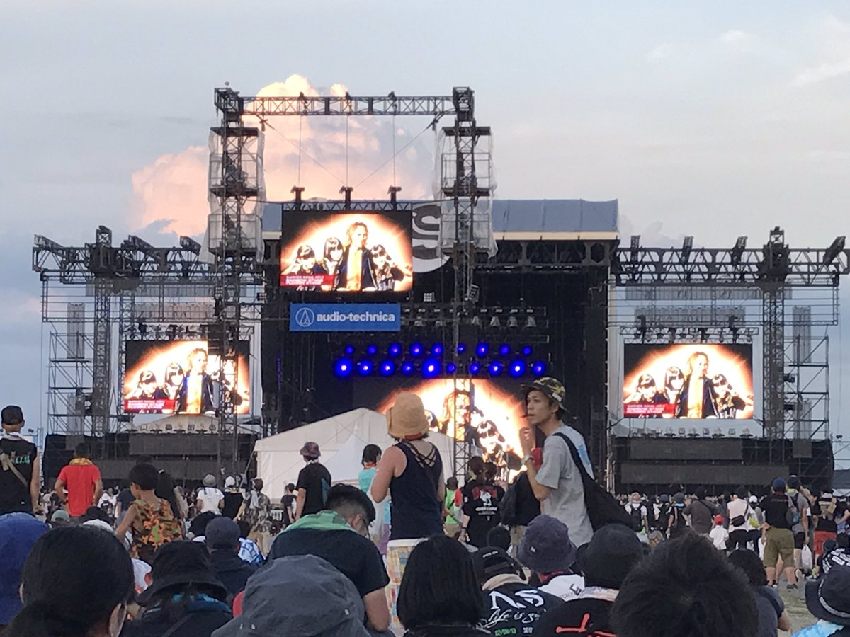 BABYMETAL  「SUMMER SONIC 2017」 大阪の様子 殺人セトリが羨ましいw