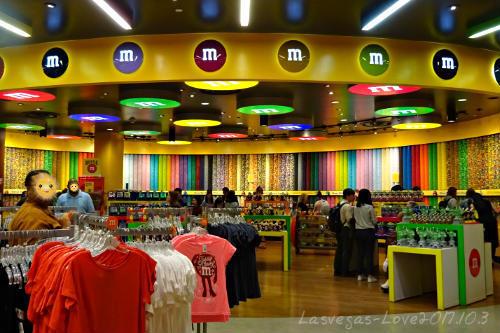 M&M's ワールド