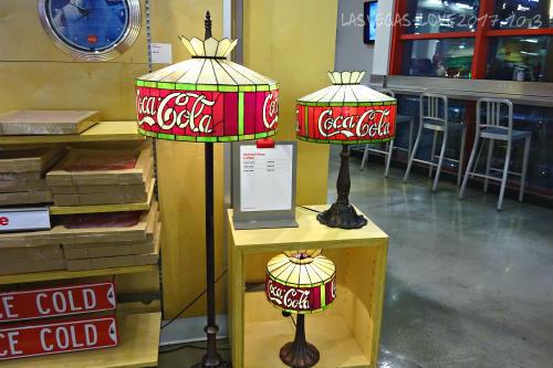 コカ・コーラ テーブルランプ