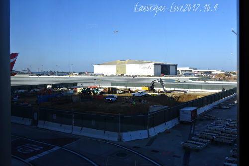 トムブラッドレー国際ターミナル 工事