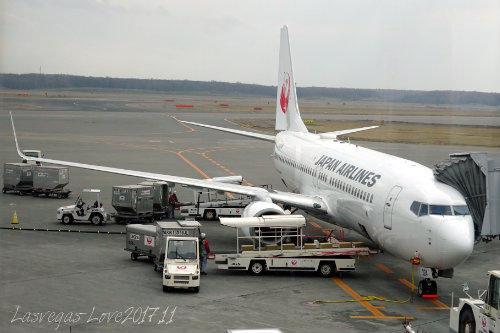 JAL 関空行き
