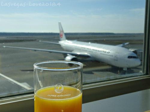 オレンジ ジュースと飛行機