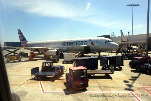アメリカン航空機