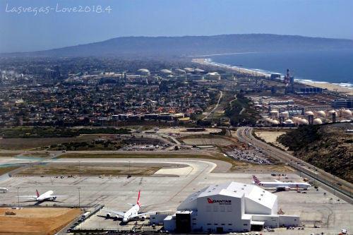 ロサンゼルス空港 離陸