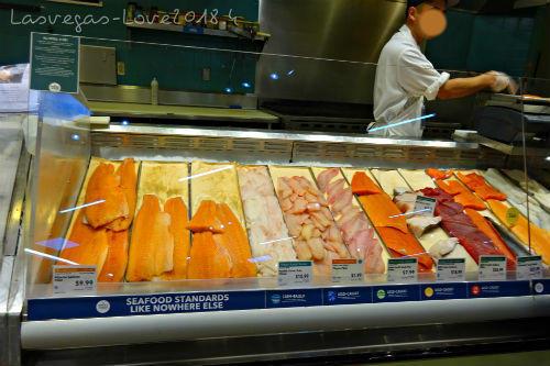 魚のコーナー