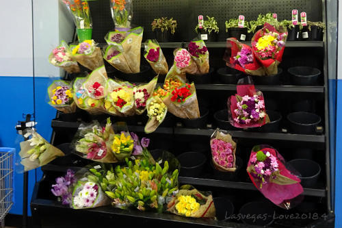 ウォルマート 花