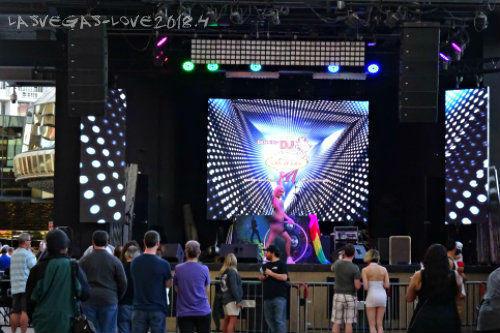 ダンス DJ ステージ
