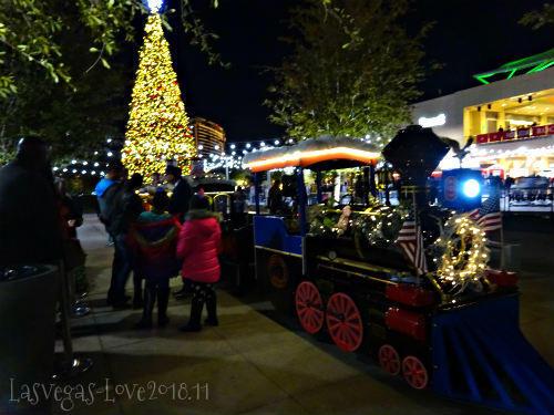 汽車 クリスマスツリー
