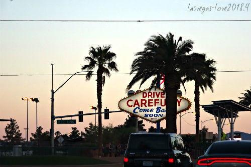 ラスベガスサイン Welcome