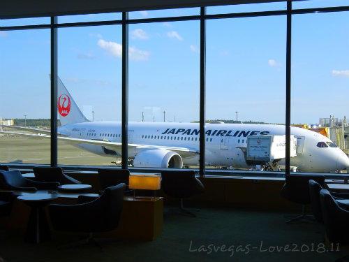 飛行機 窓 JAL
