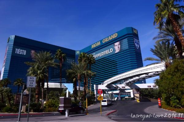 MGMグランド モノレール ラスベガス
