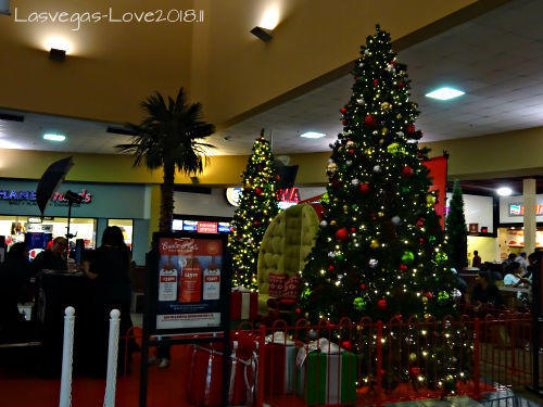 フードコート クリスマス