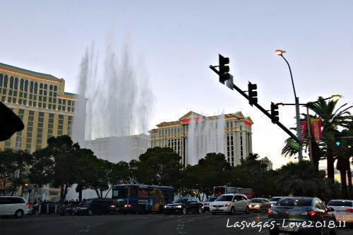 ベラージオ 噴水ショー ラスベガス