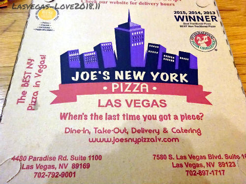 JOE'S NEW YORK  PIZZA Lasvegas