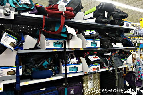 ウォルマート スーツケース バッグ