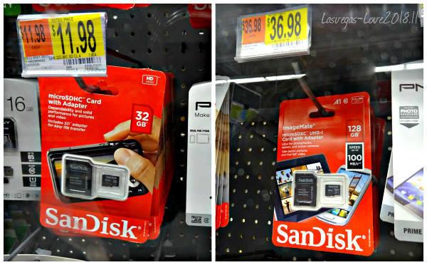 ウォルマート SDカード