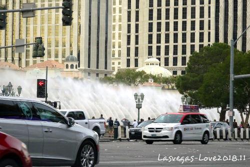 ラスベガス ベラージオ 噴水