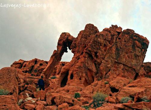 ラスベガス バレーオブファイヤー Elephant Rock