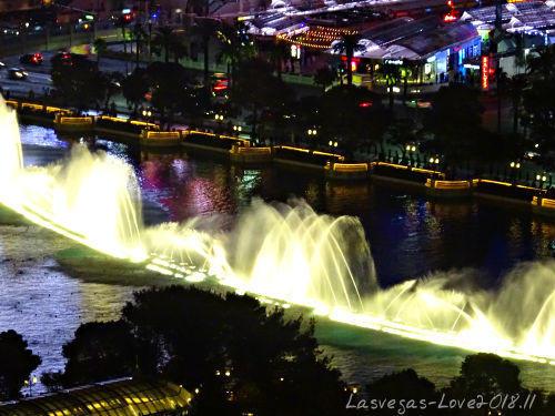 ラスベガス 噴水ショー ベラージオ