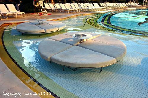 ラスベガス アンコール プール