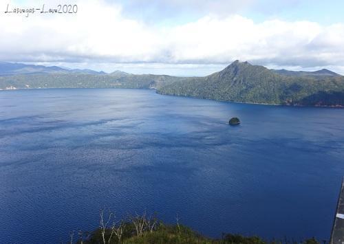 摩周湖 第3展望台 カムイシュ島