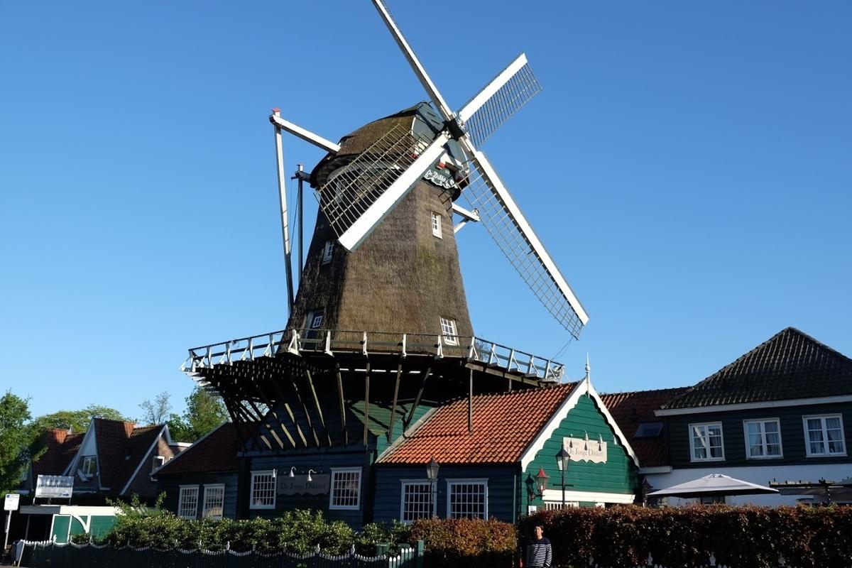 オランダ 風車のレストラン